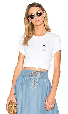 Beach Baby Nikki Tee in White