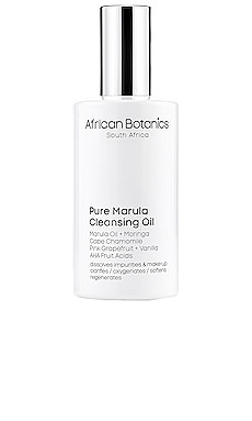 Pure Marula Cleansing Oil African Botanics $60