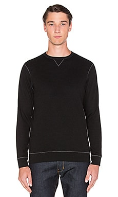 AG Adriano Goldschmied Commute Pullover in Heather True Black