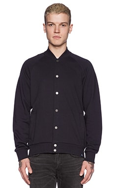 AG Adriano Goldschmied Arch Bomber in Navy