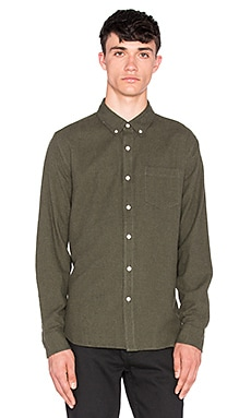 AG Adriano Goldschmied Nimbus Shirt in Dark Moss