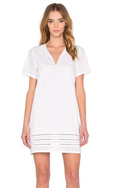 AG Adriano Goldschmied Poppy Dress in True White