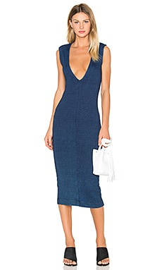 AG Adriano Goldschmied CAPSULE Pi Dress in Indigo