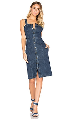 Sydney Denim Dress in Renewal