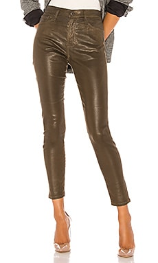 FARRAH SKINNY ANKLE LEATHERETTE スキニーデニム AG Adriano Goldschmied $285 ベストセラー