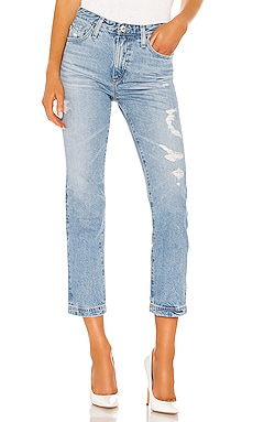 Isabelle Straight Leg Jean AG Adriano Goldschmied $125