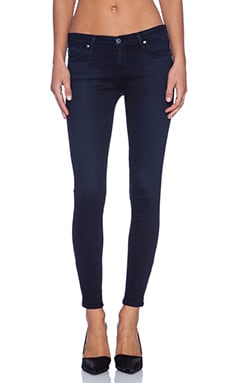 AG Adriano Goldschmied Zip-Up Legging Ankle in Tracker