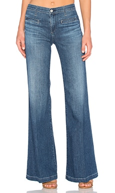 Designer Wide Leg and Flare Jeans for Women | Denim