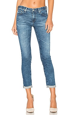 JEAN BOYFRIEND STILT ROLL UP