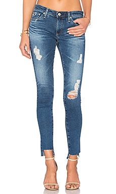 JEANS CROPPED LEGGING NO TORNOZELO