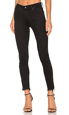 Купить Скинни джинсы до лодыжек farrah - AG Adriano Goldschmied, Высокая талия, США
