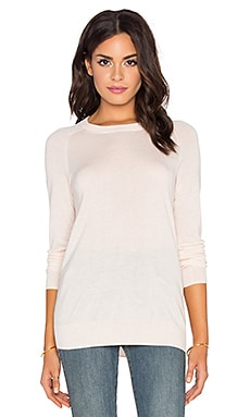 AG Adriano Goldschmied Rylea Crew Neck Sweater in Blush Pearl