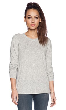 AG Adriano Goldschmied Horizon Slider Sweater in Heather Grey