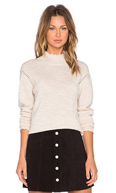 x Alexa Chung Scotland Sweater in Pearl