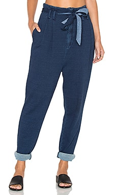 AG Adriano Goldschmied CAPSULE Pentra Pant in Indigo