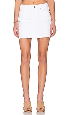 Sandy Mini Skirt in White