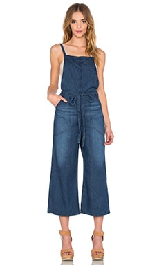 AG Adriano Goldschmied Alyssa Jumpsuit in Coarse Blue