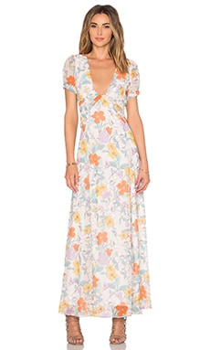 AGAIN Fonda Dress in Floral