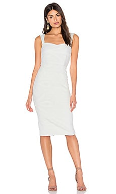 AGAIN Jasper Dress in White