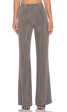 AGAIN Bourbon Trouser in Charcoal