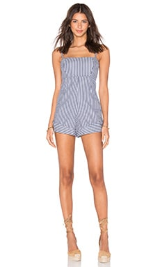 Bette Romper in Blue