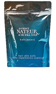Holi(mane) Hair, Skin, & Nails Daily Supplement Agent Nateur $78 NEW