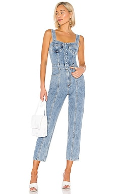 Ingrid All In One Bralette Jumpsuit AGOLDE $249