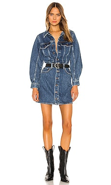 VESTIDO DENIM BALLOON AGOLDE $190