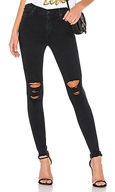 Destroyed skinny jeans womens