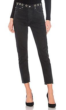 Классические джинсы hi rise - AGOLDE