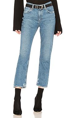 Прямые джинсы cigarette low slung - AGOLDE