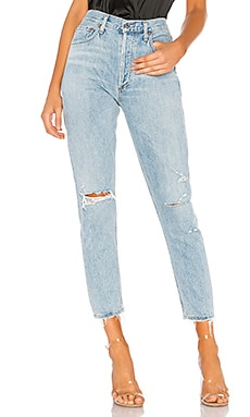 Jamie High Rise Straight AGOLDE $178