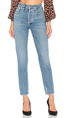 Jamie High Rise Straight AGOLDE $168