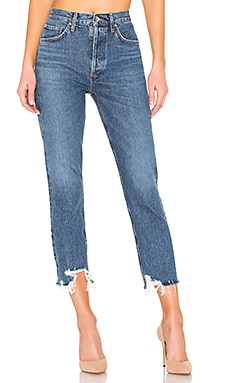 Riley High Rise Straight Crop AGOLDE $151