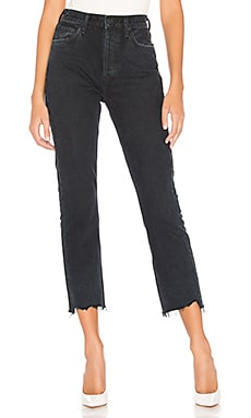 JEAN CROPPED JAMBES DROITES RILEY AGOLDE $188