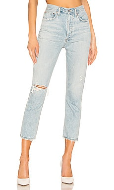 Riley High Rise Straight Crop AGOLDE $199