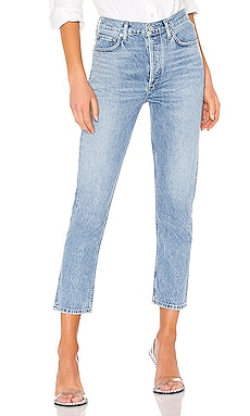 Riley High Rise Straight Crop AGOLDE $188 BEST SELLER