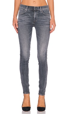 A Gold E Sophie High Rise Skinny in Rockport