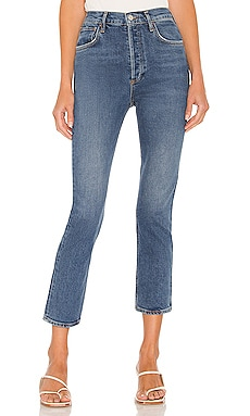 Riley High Rise Straight Crop AGOLDE $178 Sustainable