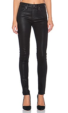 A Gold E Sophie High Rise Skinny in Stargaze