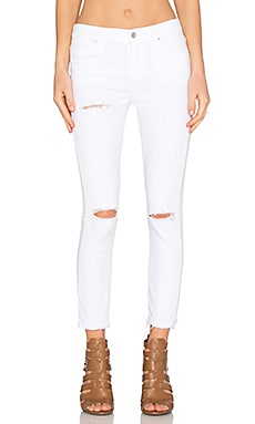 A Gold E Sophie High Rise Crop Skinny