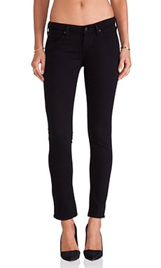 A Gold E Chloe Low Rise Skinny in Dark Knights