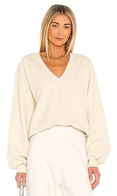 V Neck Balloon Sleeve Sweatshirt AGOLDE $97