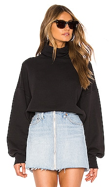X REVOLVE Balloon Sleeve Turtleneck Sweatshirt AGOLDE $128