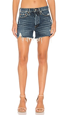 Parker Vintage Cut Off Short in Heart Breaker