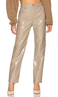 Recycled Leather 90's Pinch Waist AGOLDE $298 Sustainable