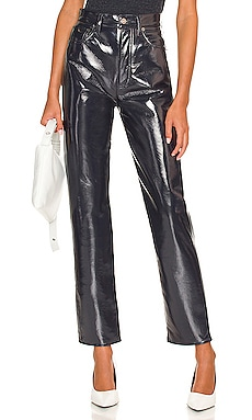 Recycled Leather 90's Pinch Waist AGOLDE $298 NEW