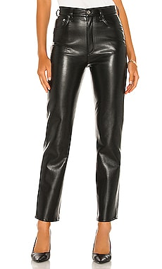 PANTALON EN CUIR AGOLDE $298 BEST SELLER