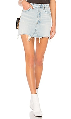 Quinn High Rise Skirt AGOLDE $128