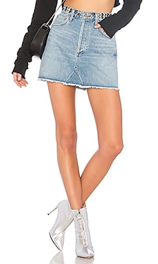 Quinn Hi Rise Mini Skirt